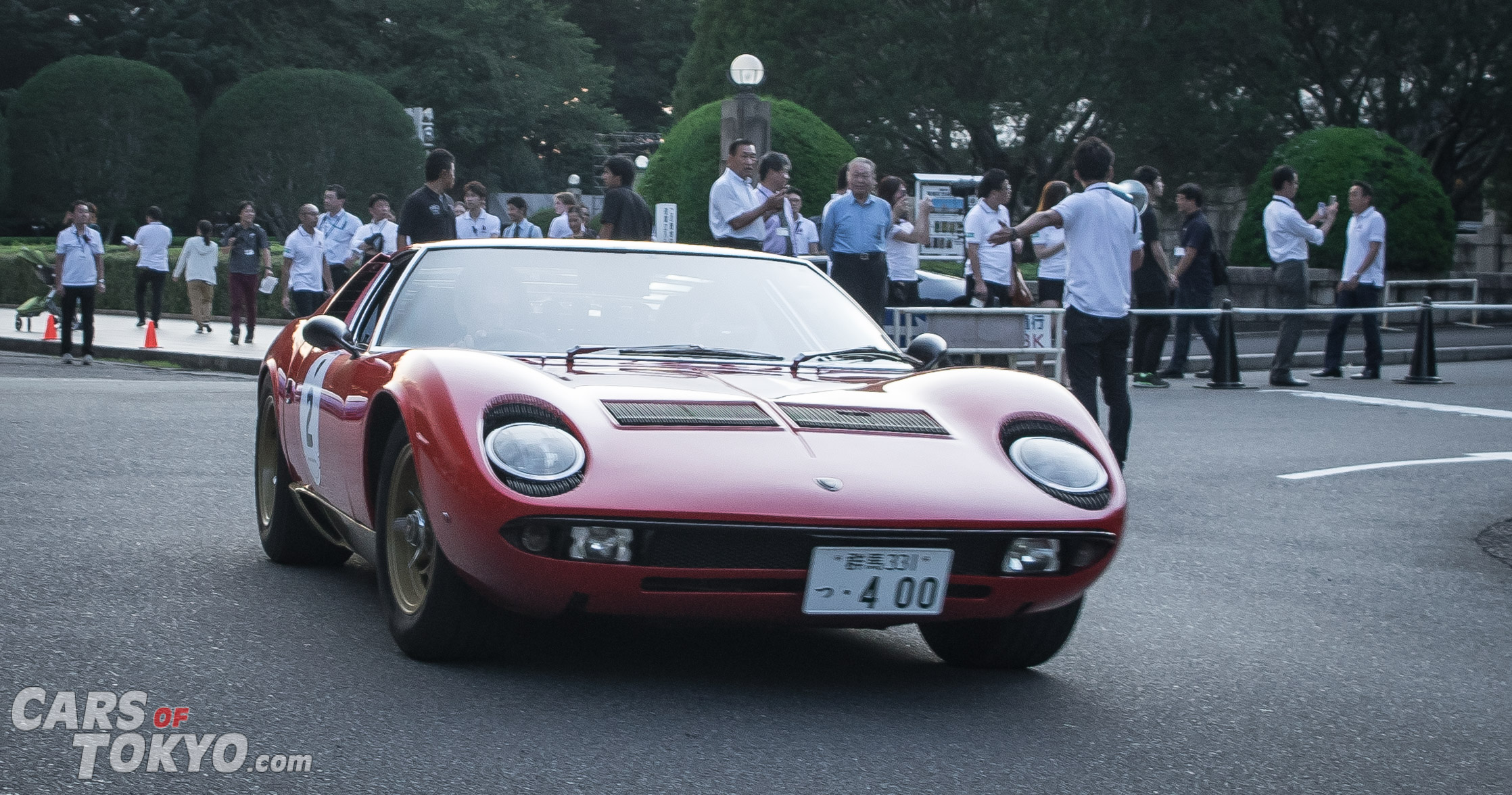 Cars of Tokyo Classic Lamborghini Miura