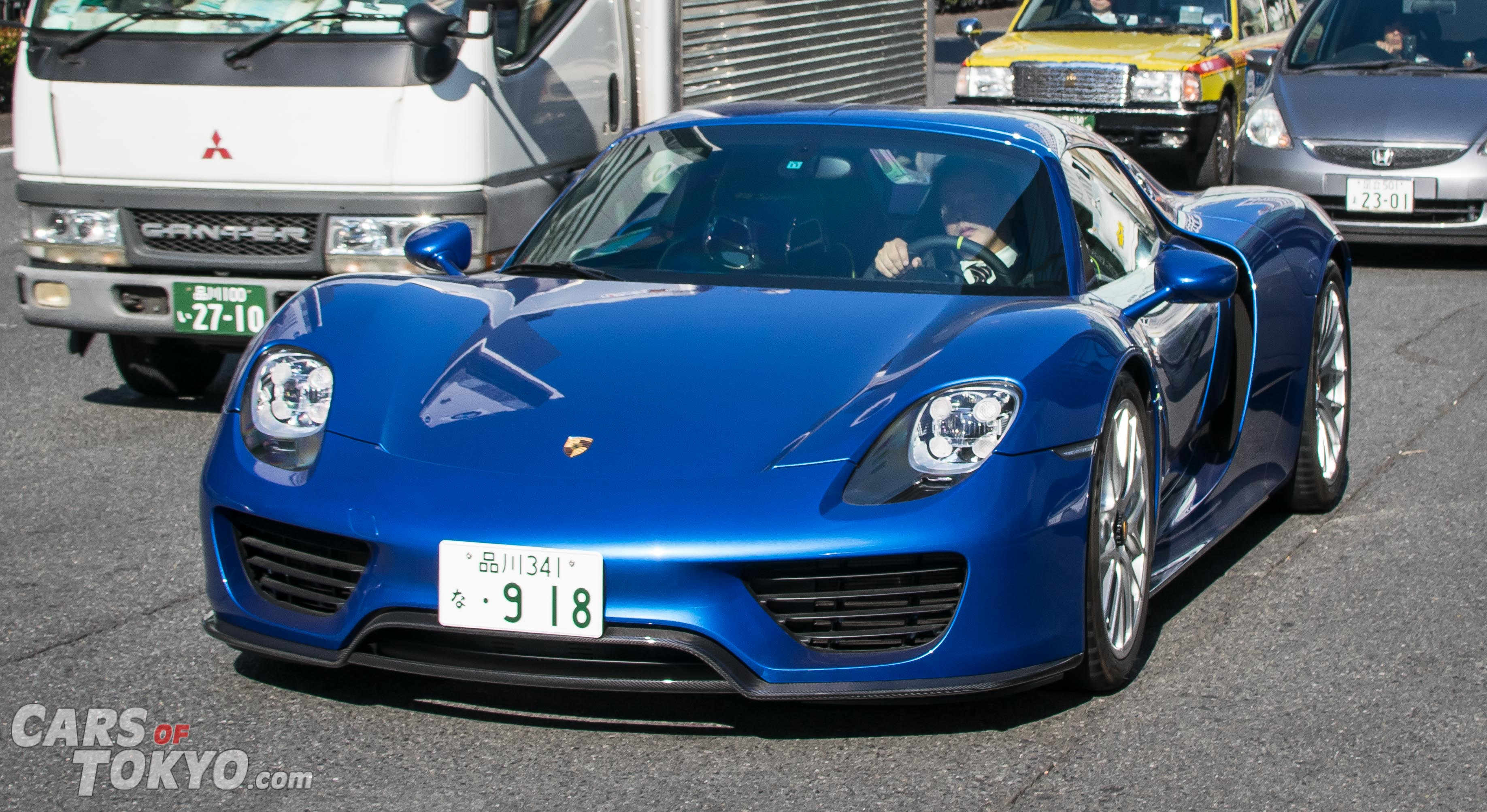 Cars of Tokyo Aoyama Porsche 918 Spyder