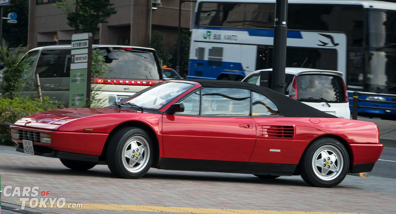 Cars of Tokyo Classic Ferrari Mondial