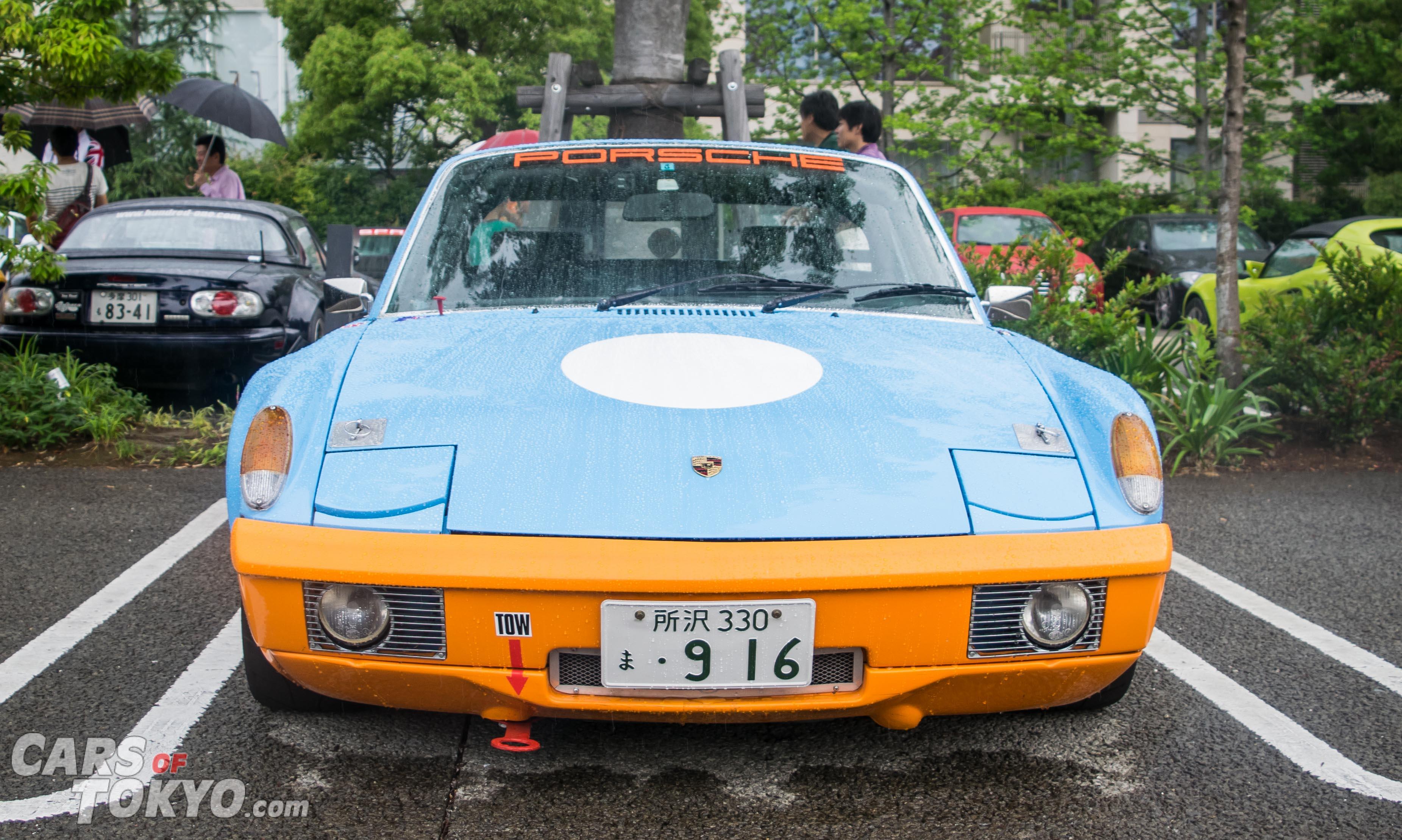 Cars of Tokyo Classic Porsche 914