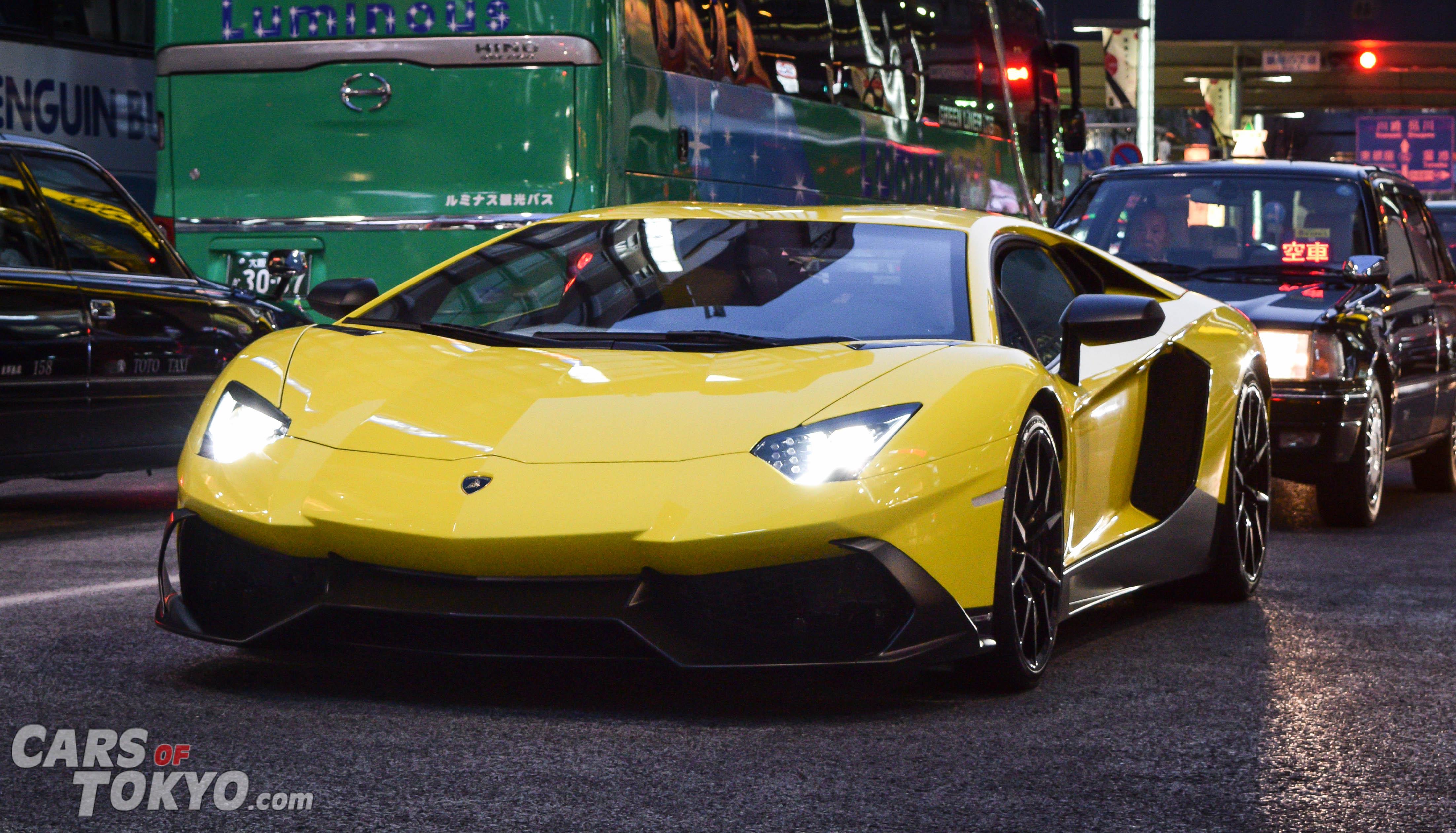 Cars of Tokyo Clean Lamborghini Aventador LP720