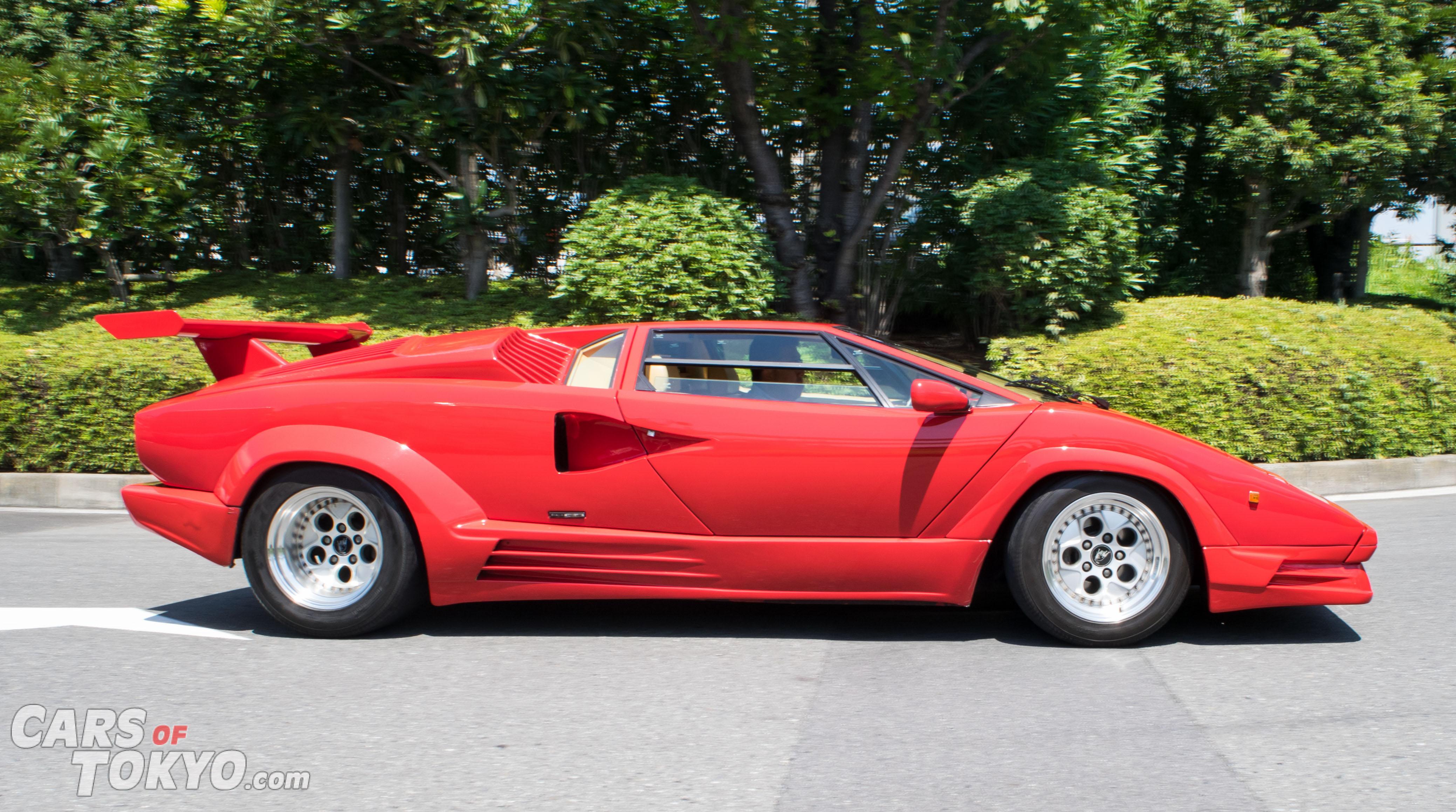 Cars of Tokyo Clean Lamborghini Countach