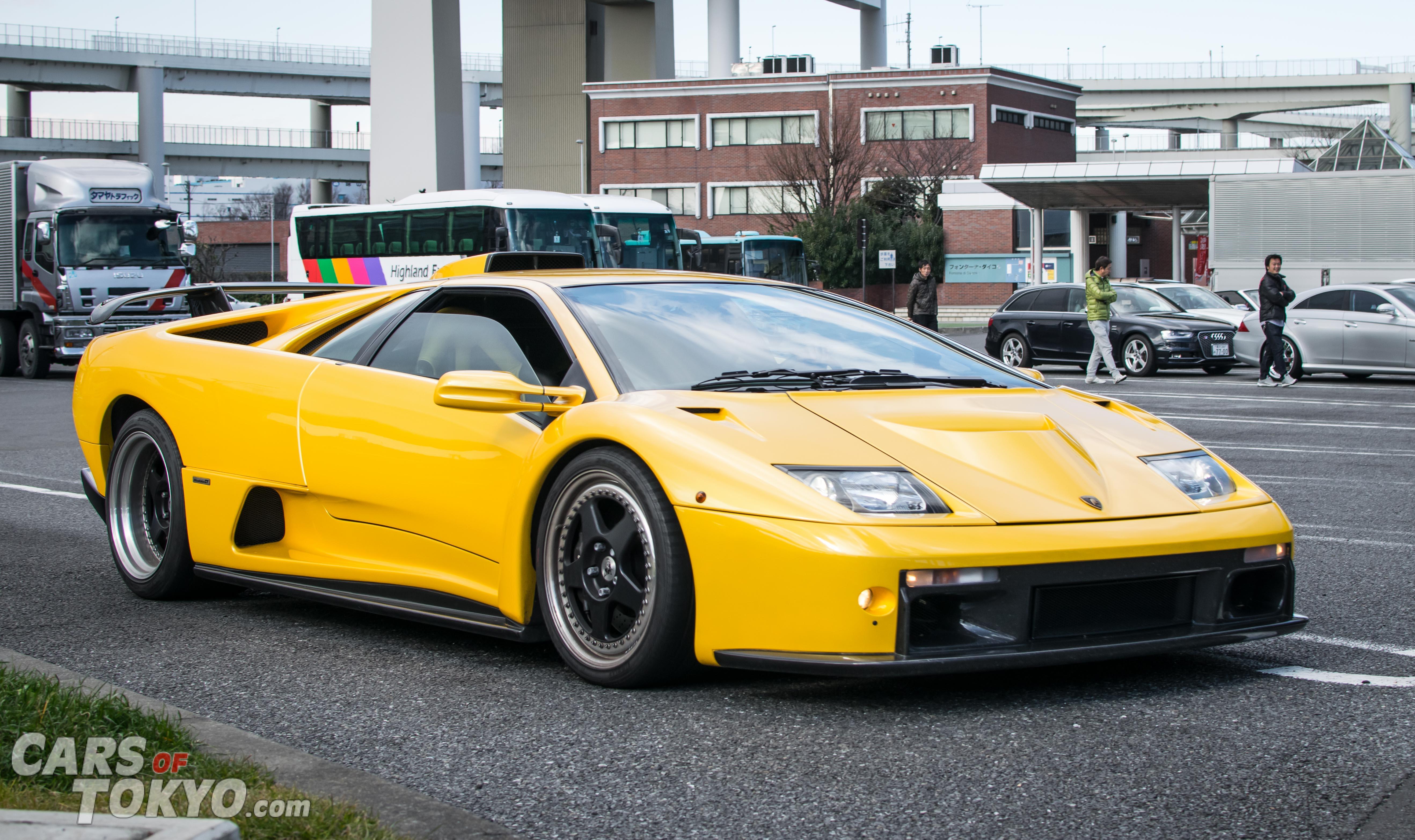 Cars of Tokyo Clean Lamborghini Diablo GT