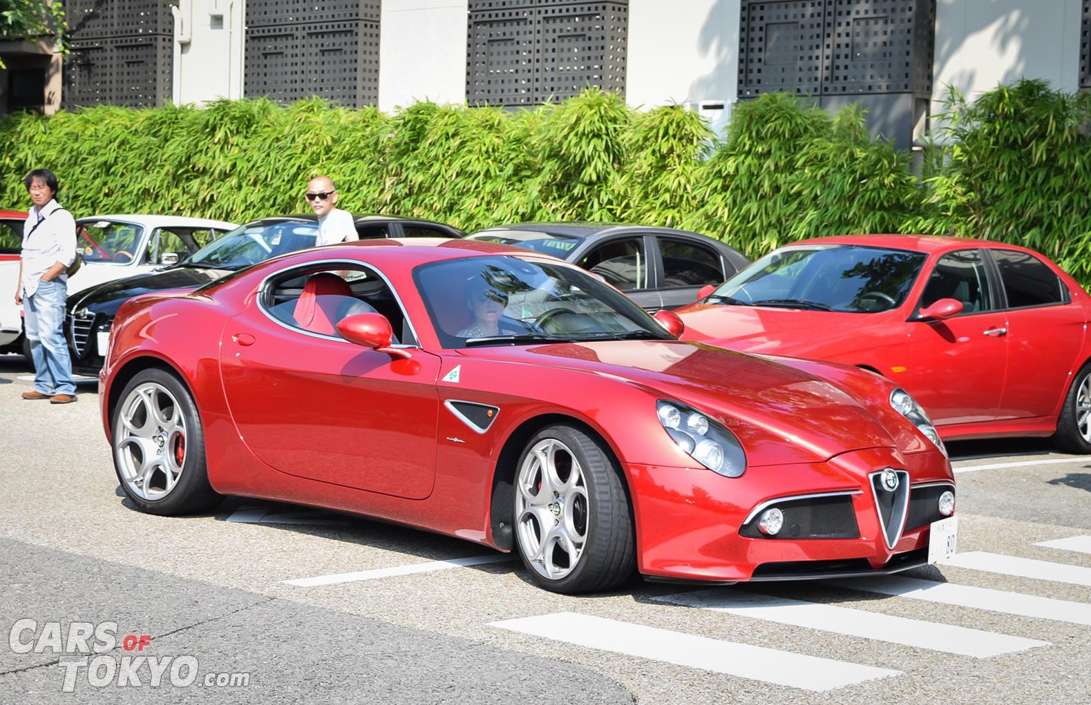 Cars of Tokyo Daikanyama Alfa Romeo 8C