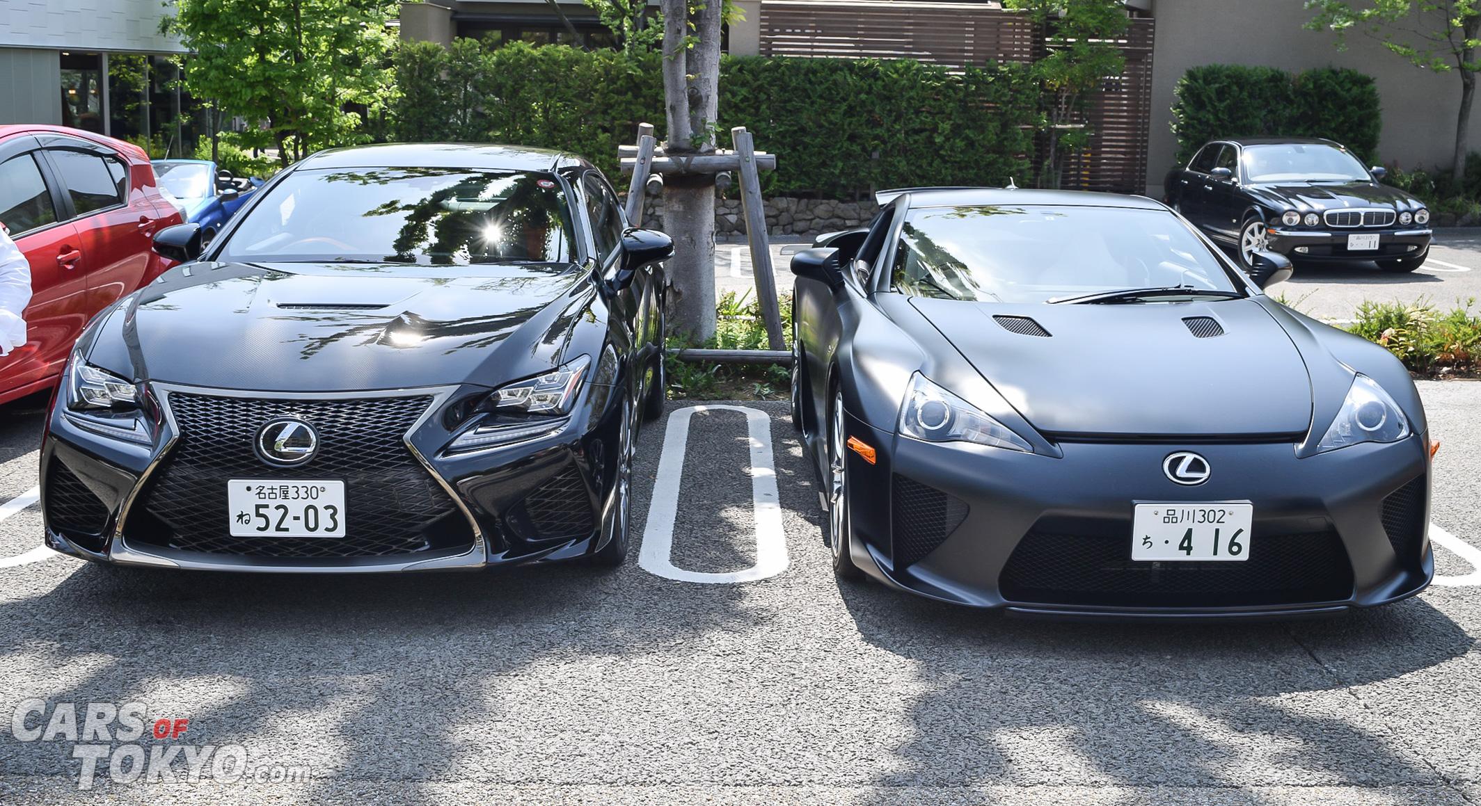 Cars of Tokyo Daikanyama Lexus RC F & LFA