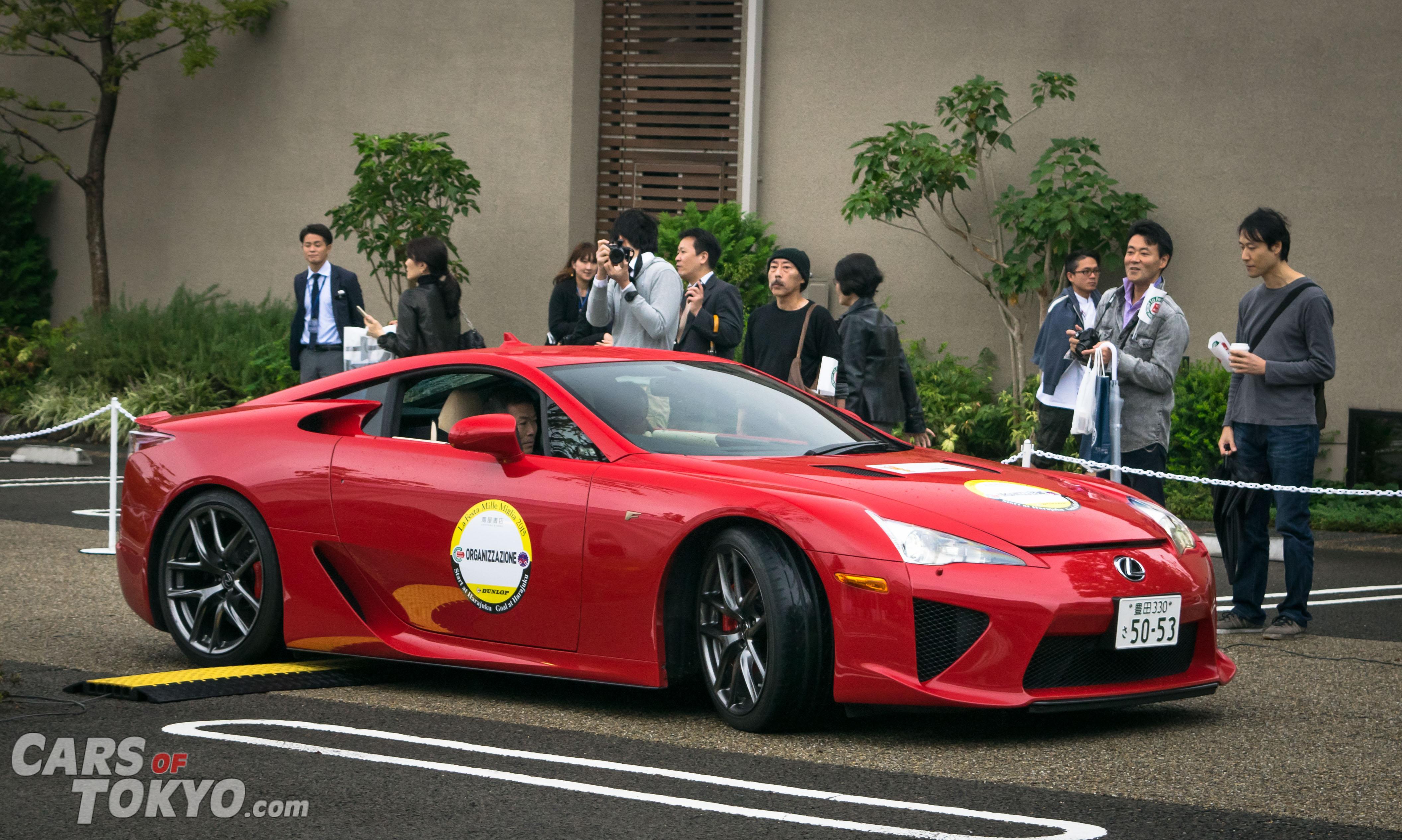 Cars of Tokyo Daikanyama Lexus LFA
