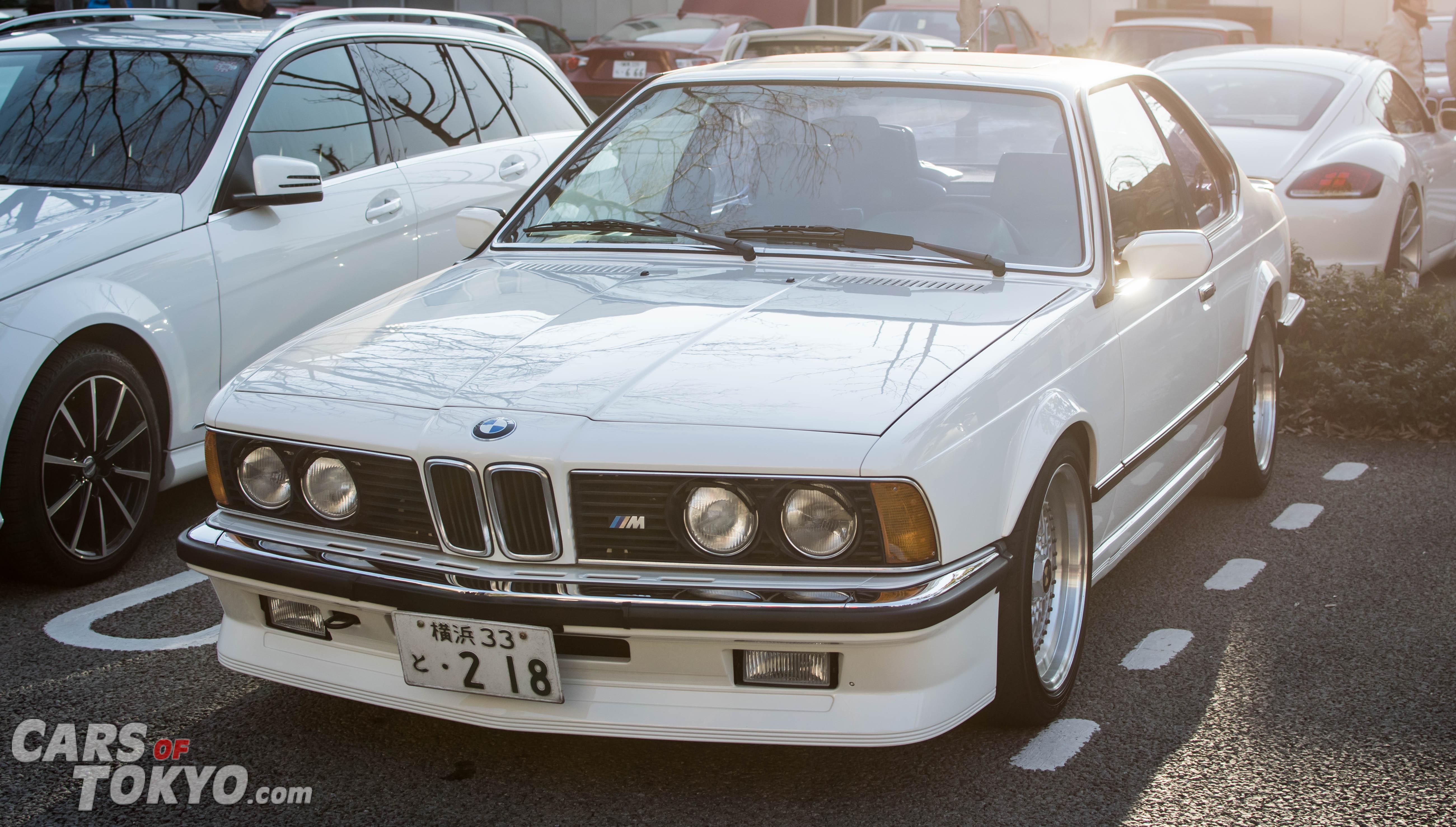 Cars of Tokyo Daikanyama BMW M635i