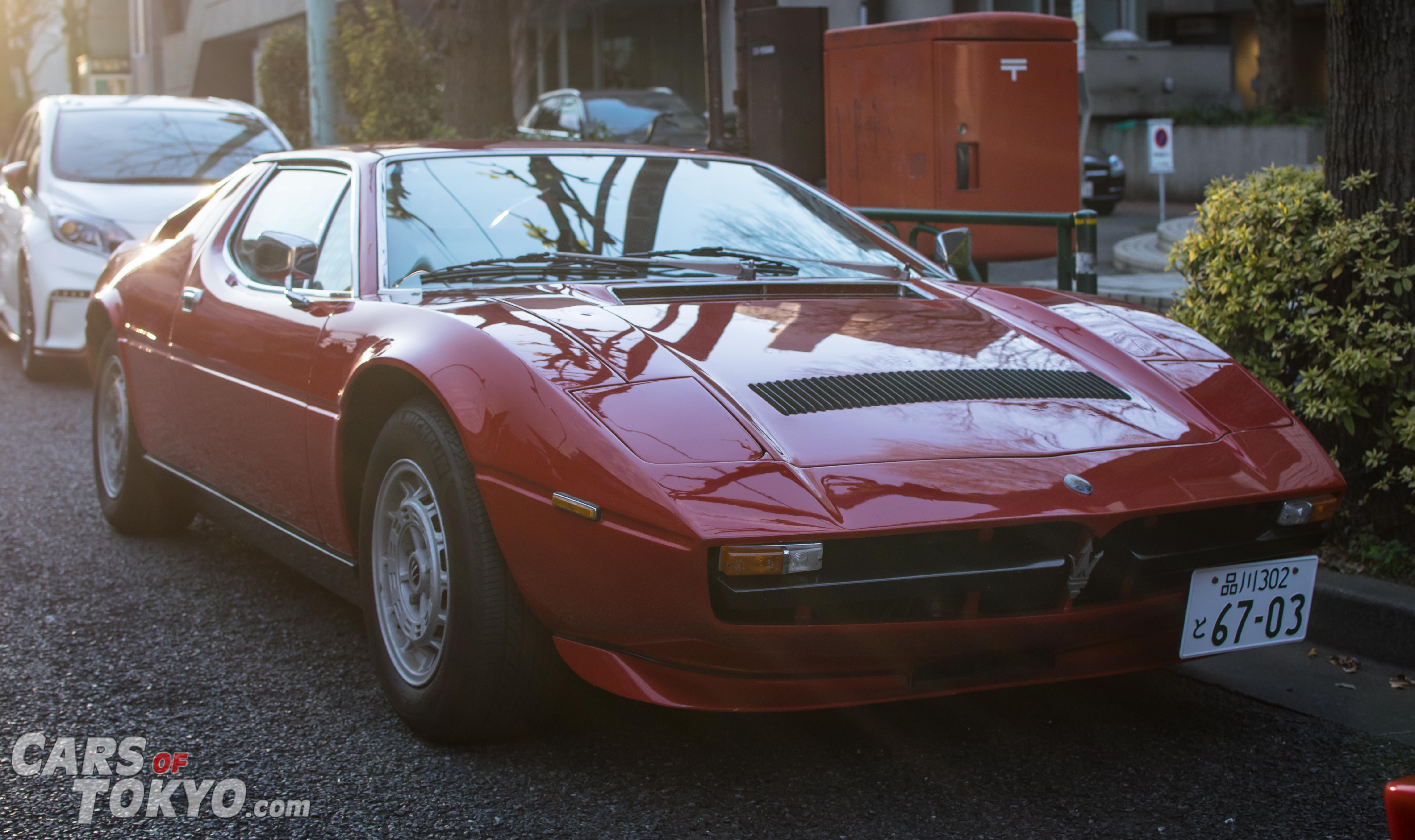 Cars of Tokyo Daikanyama Maserati Merak