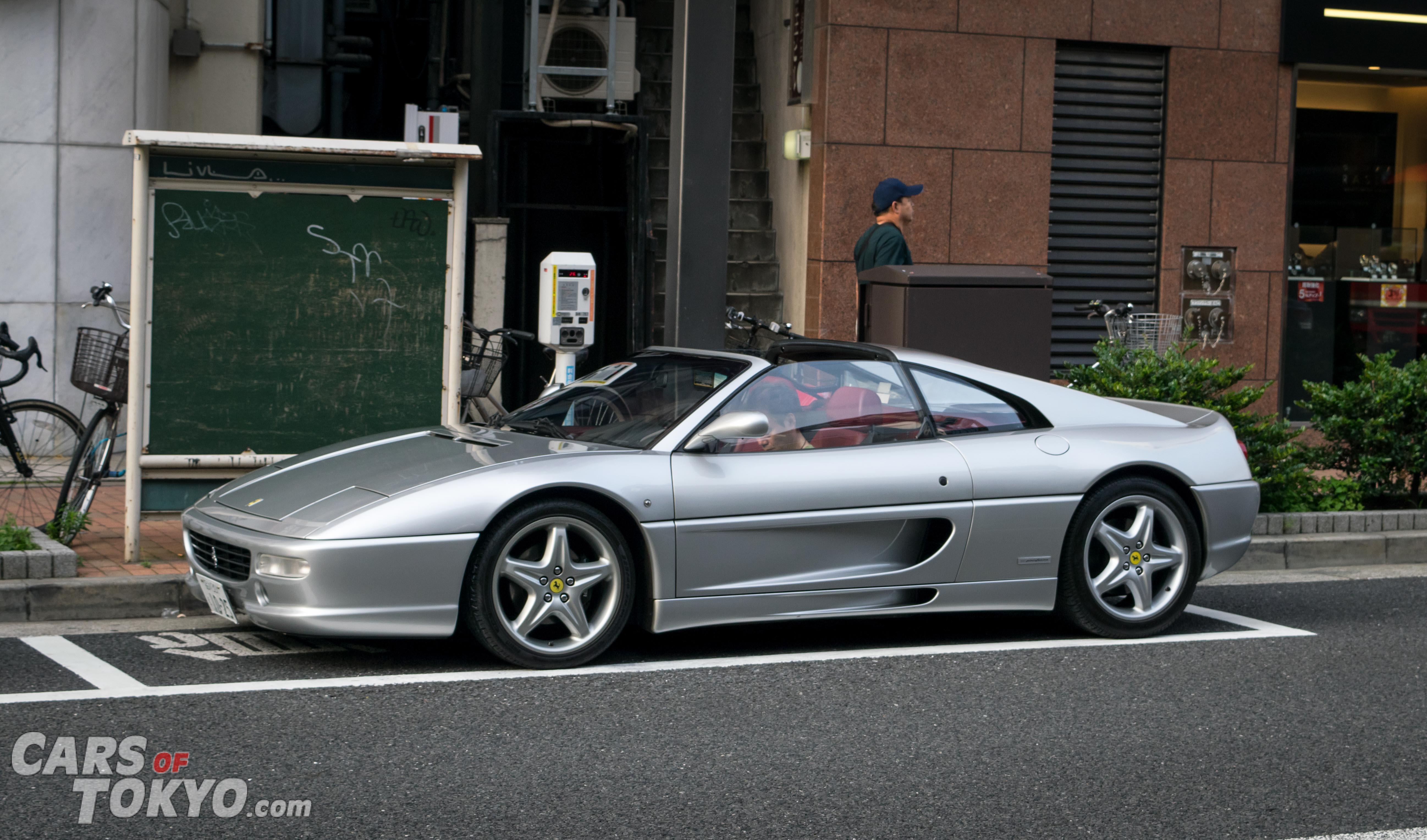 Cars of Tokyo Ginza Ferrari 355 GTS