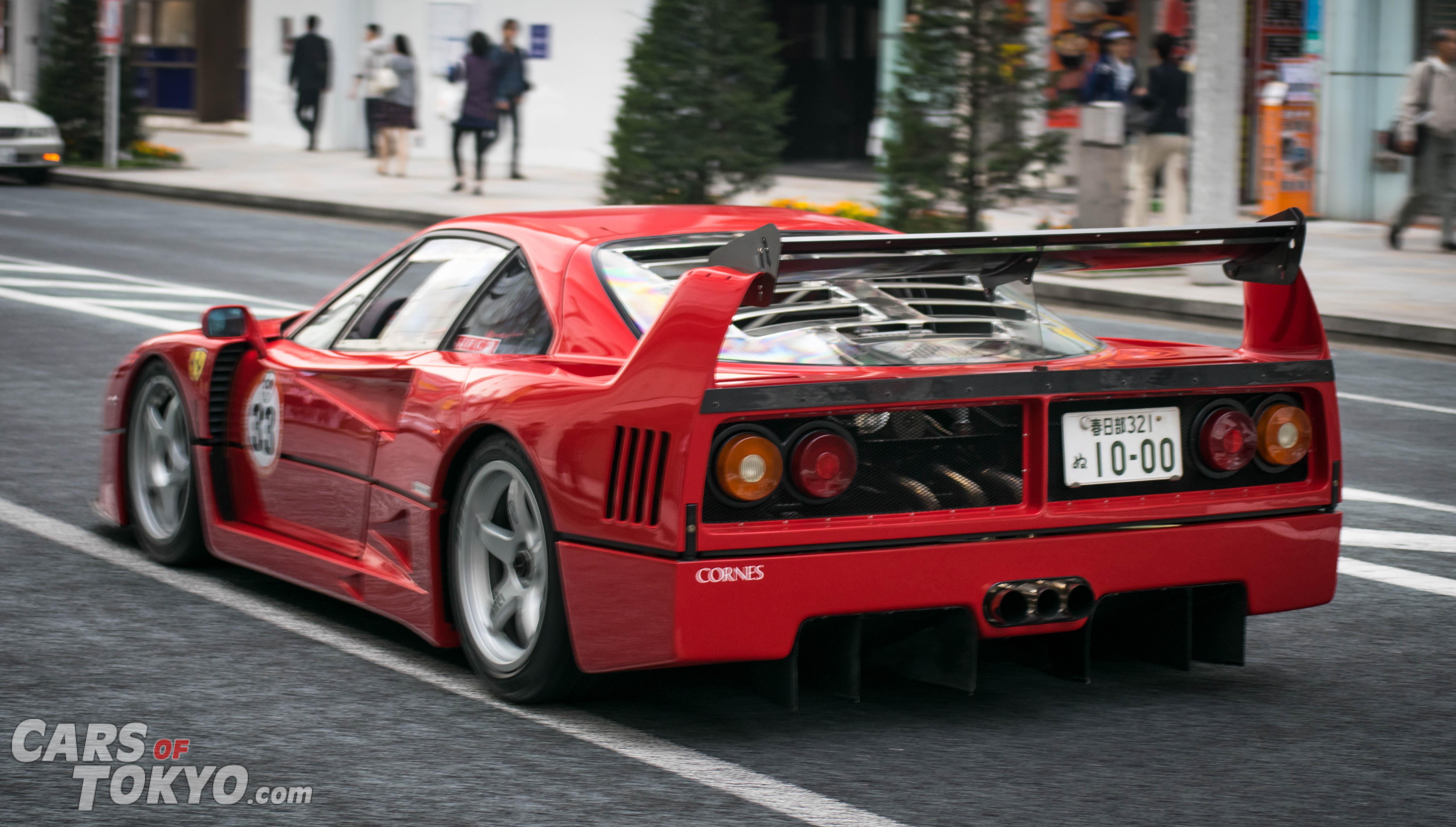 Cars of Tokyo Ginza Ferrari F40
