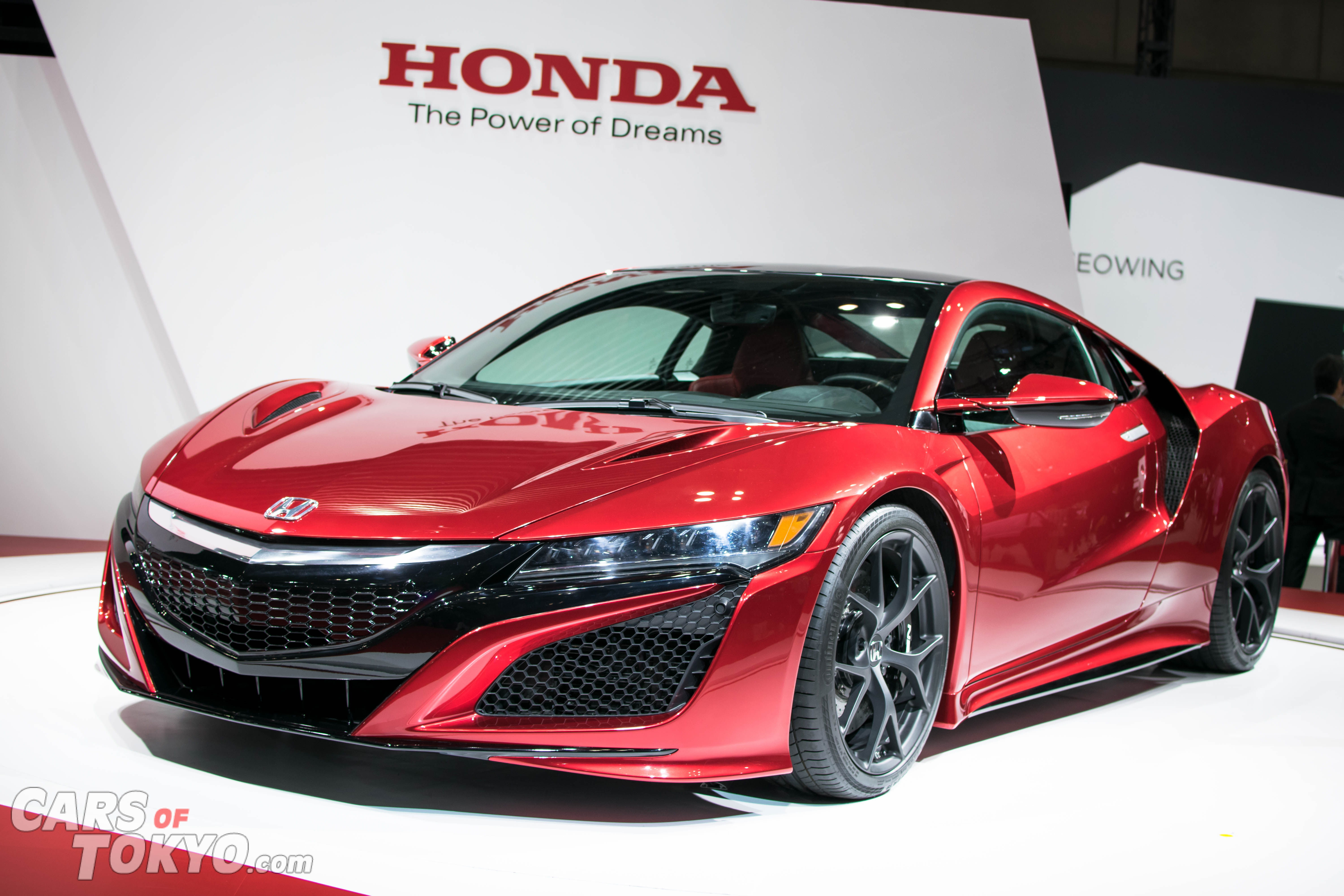 Cars of Tokyo NSX 2017