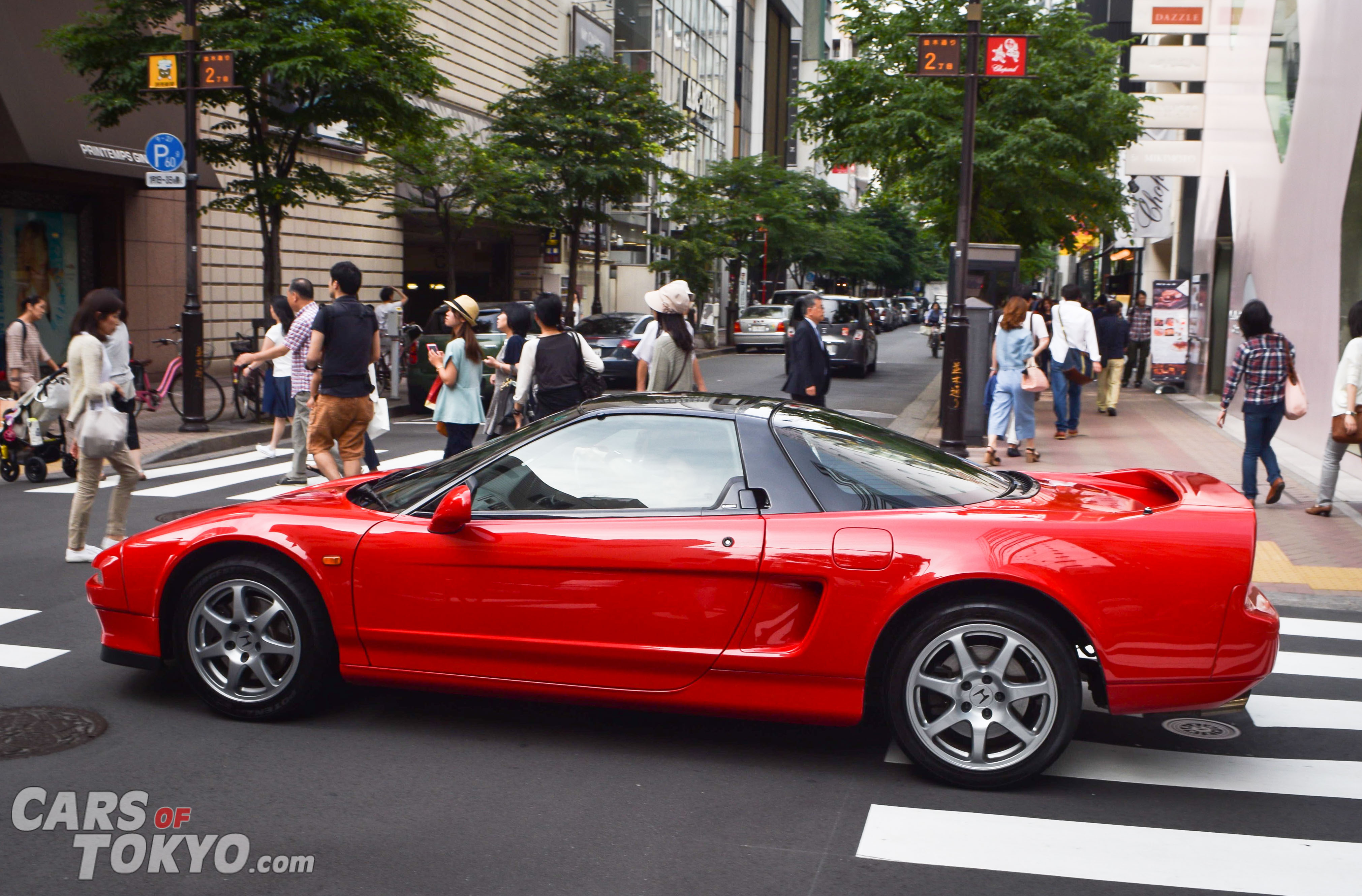 Cars of Tokyo NSX Ginza