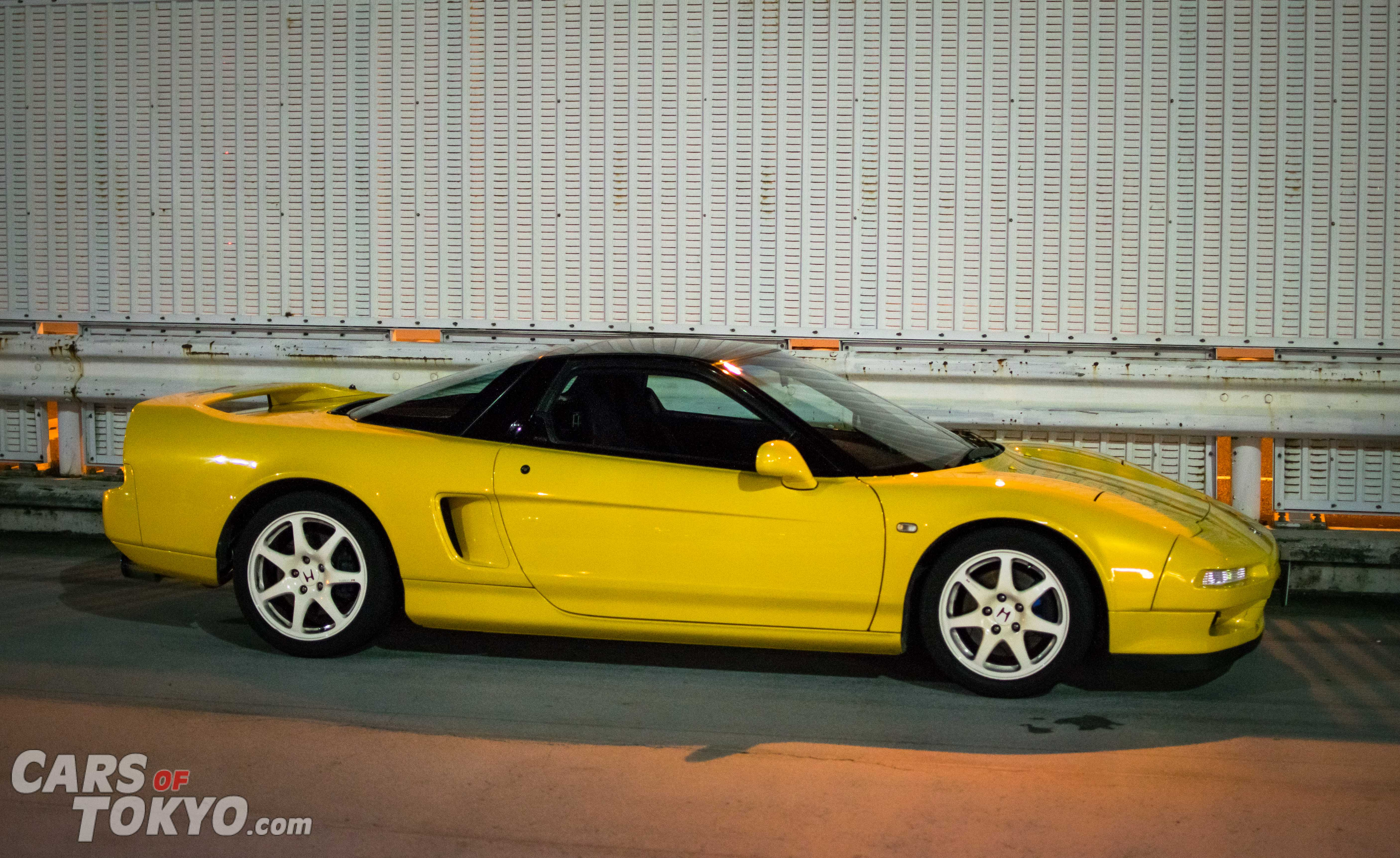 Cars of Tokyo NSX Yellow