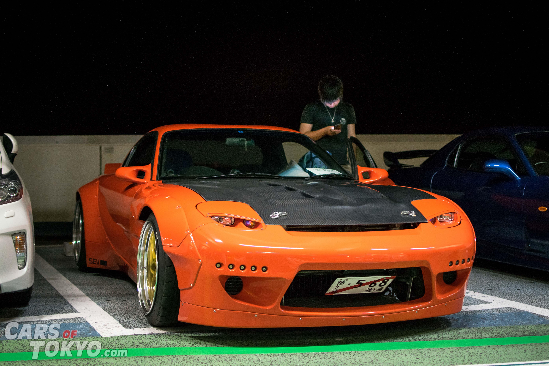 Cars of Tokyo Mazda RX7 Orange