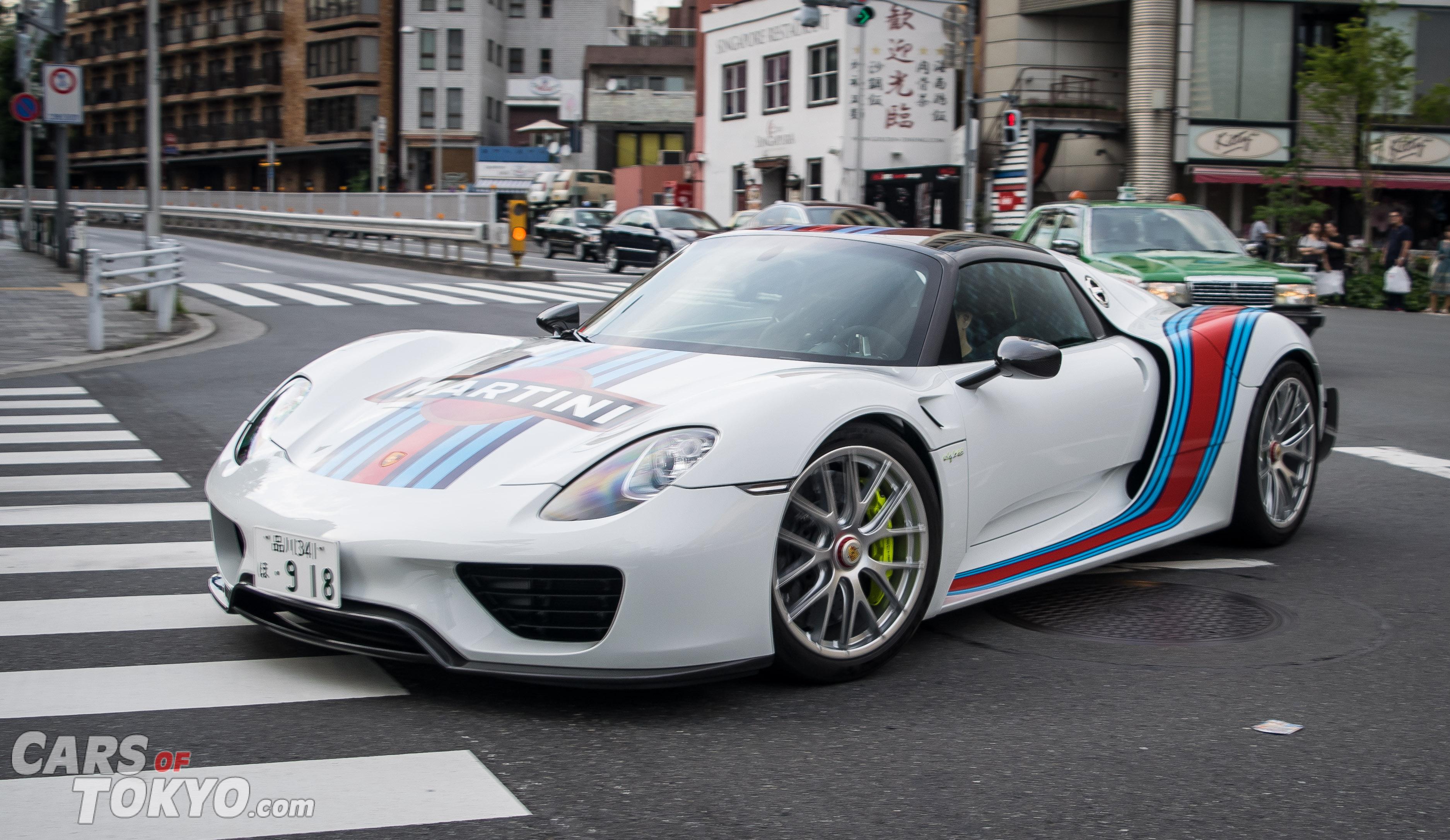 Cars of Tokyo Roppongi Porsche 918 Spyder