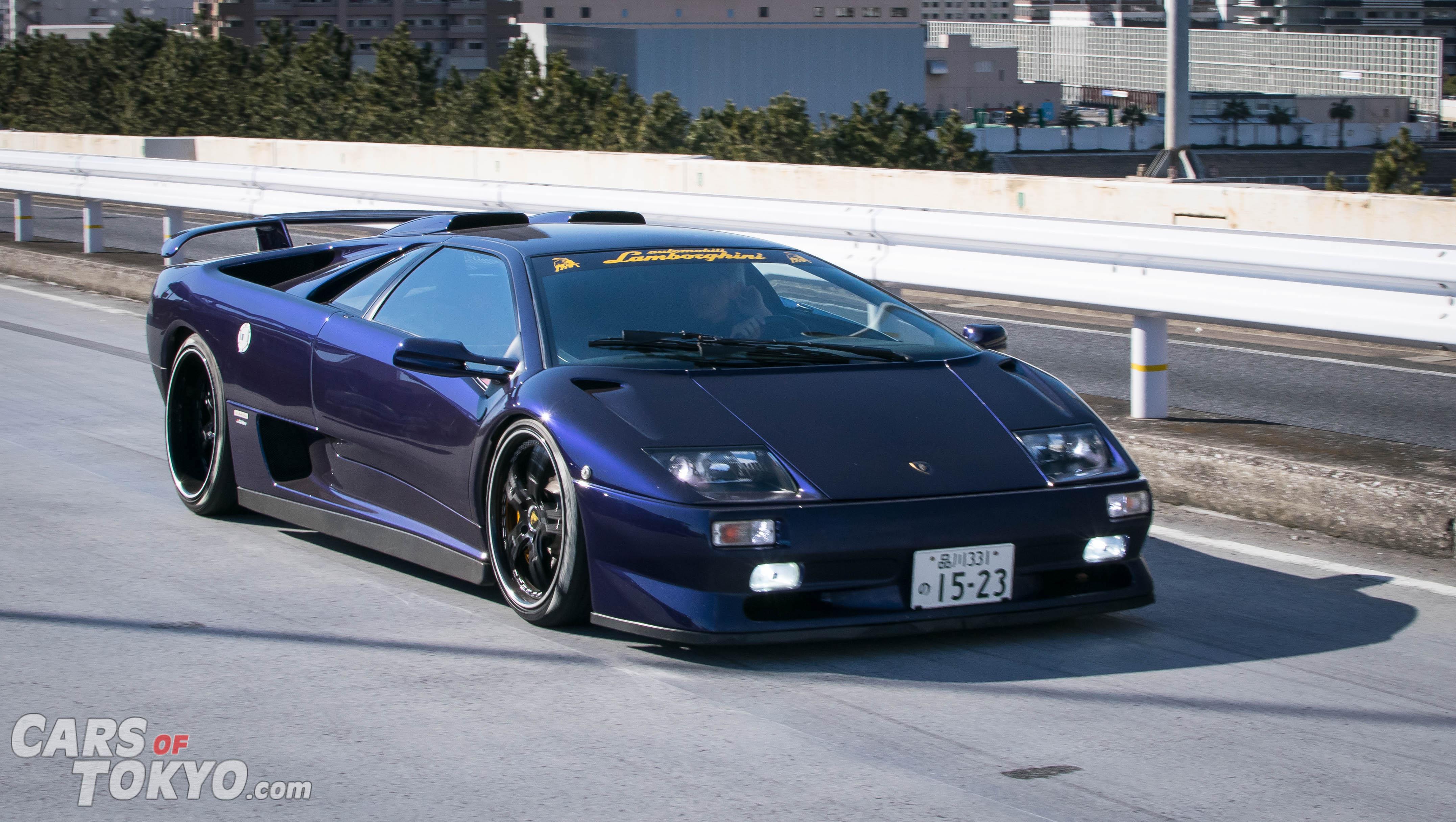 Cars of Tokyo Tatsumi Lamborghini Diablo SV