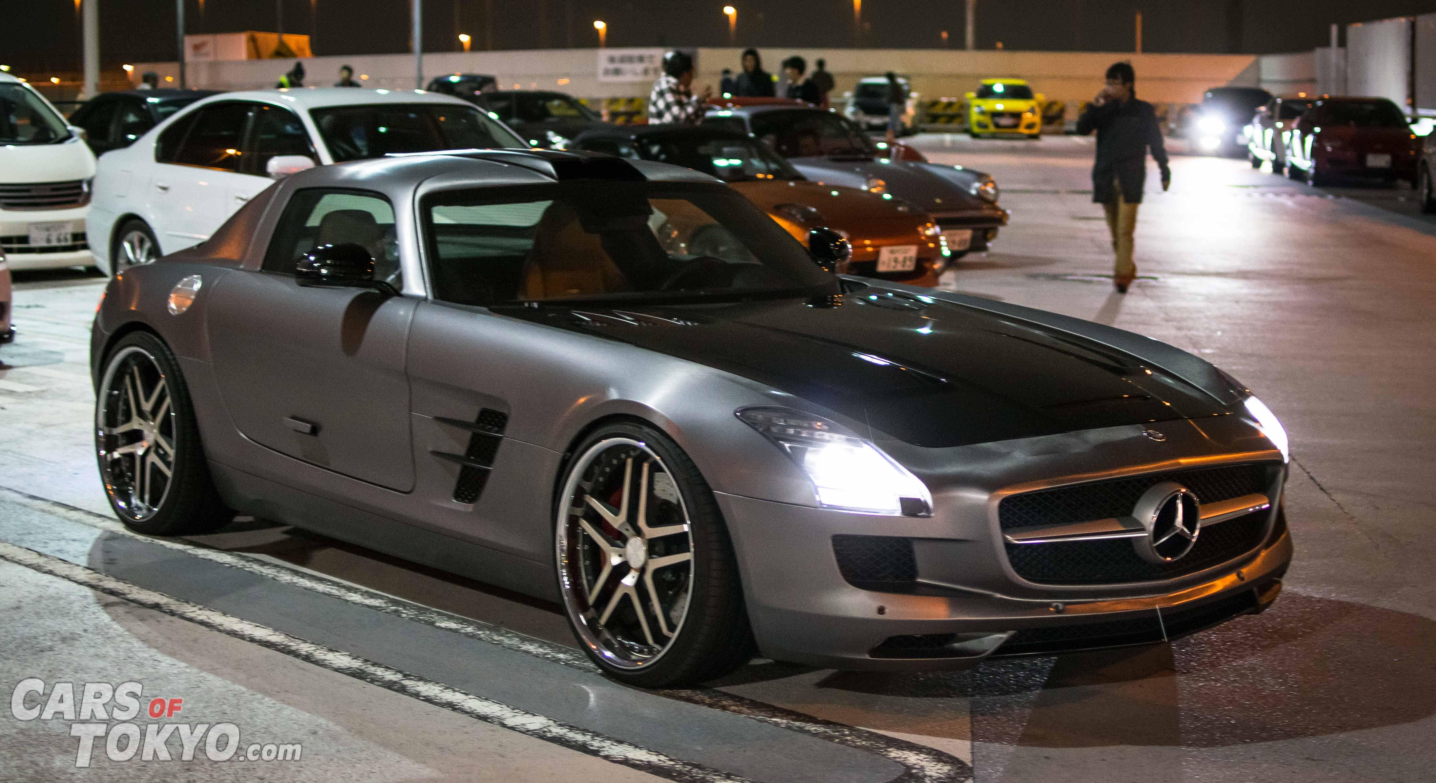 Cars of Tokyo Tatsumi Mercedes Benz SLS AMG