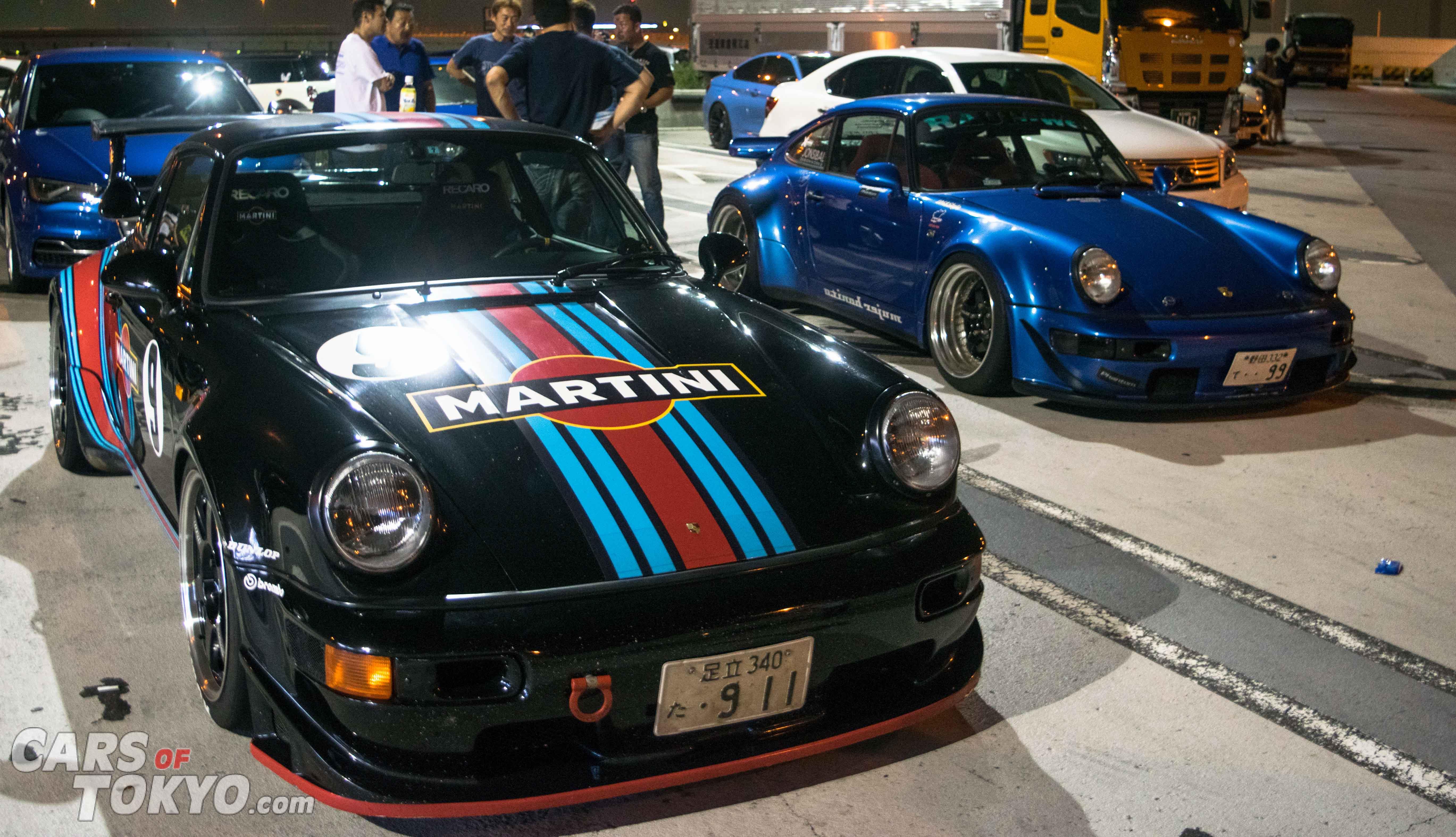 Cars of Tokyo Tatsumi 911 RWB & Martini
