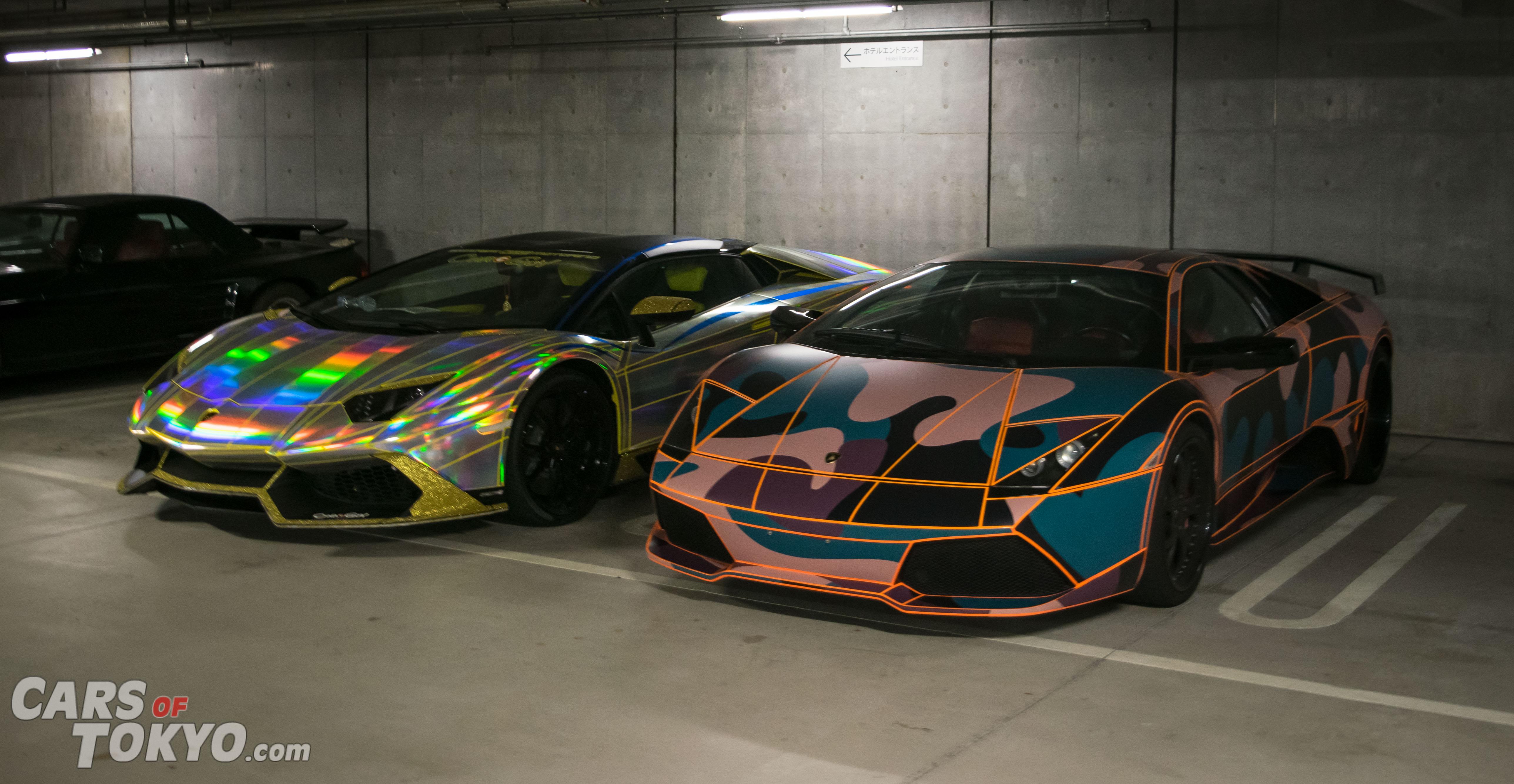 Cars of Tokyo Underground Lamborghini