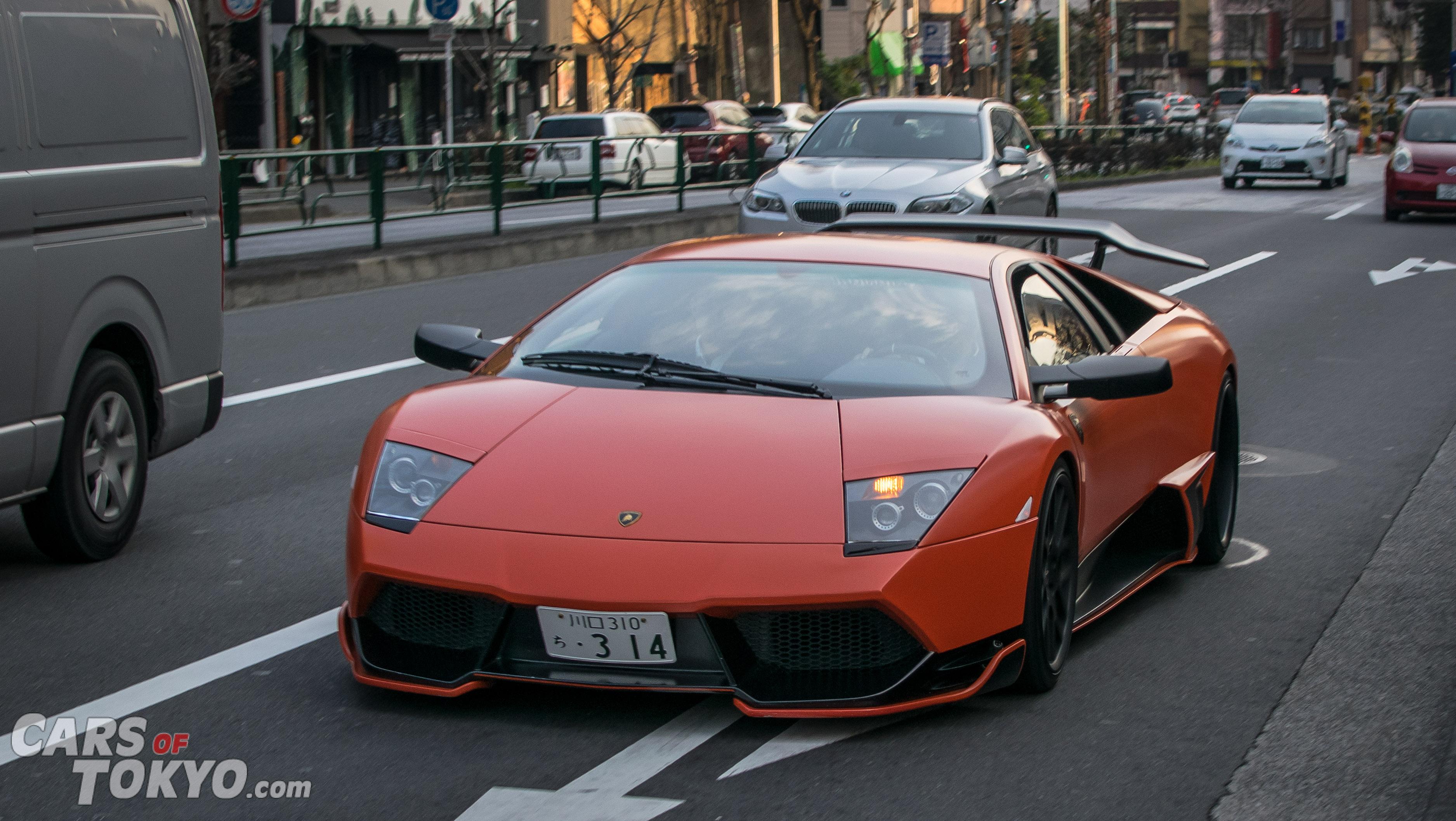 Roppongi Lamborghini Murcielago Liberty Walk Cars Of Tokyo